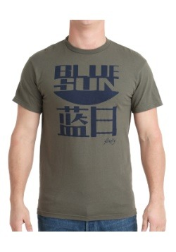 Firefly Blue Sun T-Shirt For Adults