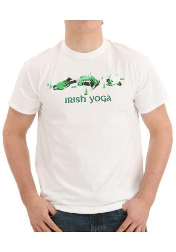 Irish Yoga White T-Shirt