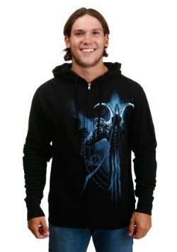 Mens Diablo III Malthael Profile Zip Up Hoodie