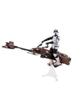 Star Wars Black Series Biker Scout with Speeder Bike