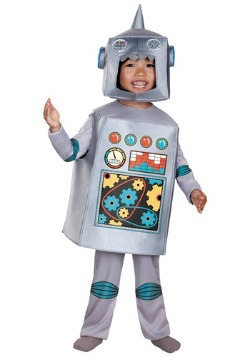 Retro Robot Costume For Toddlers