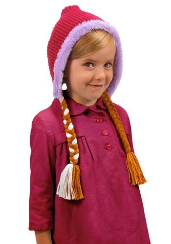 Frozen Anna Child Hat With Braids update1