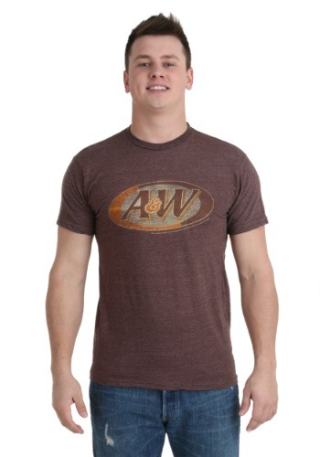 A&W Logo Men's T-Shirt