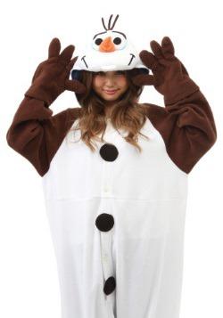 Adult Olaf Pajama Costume3