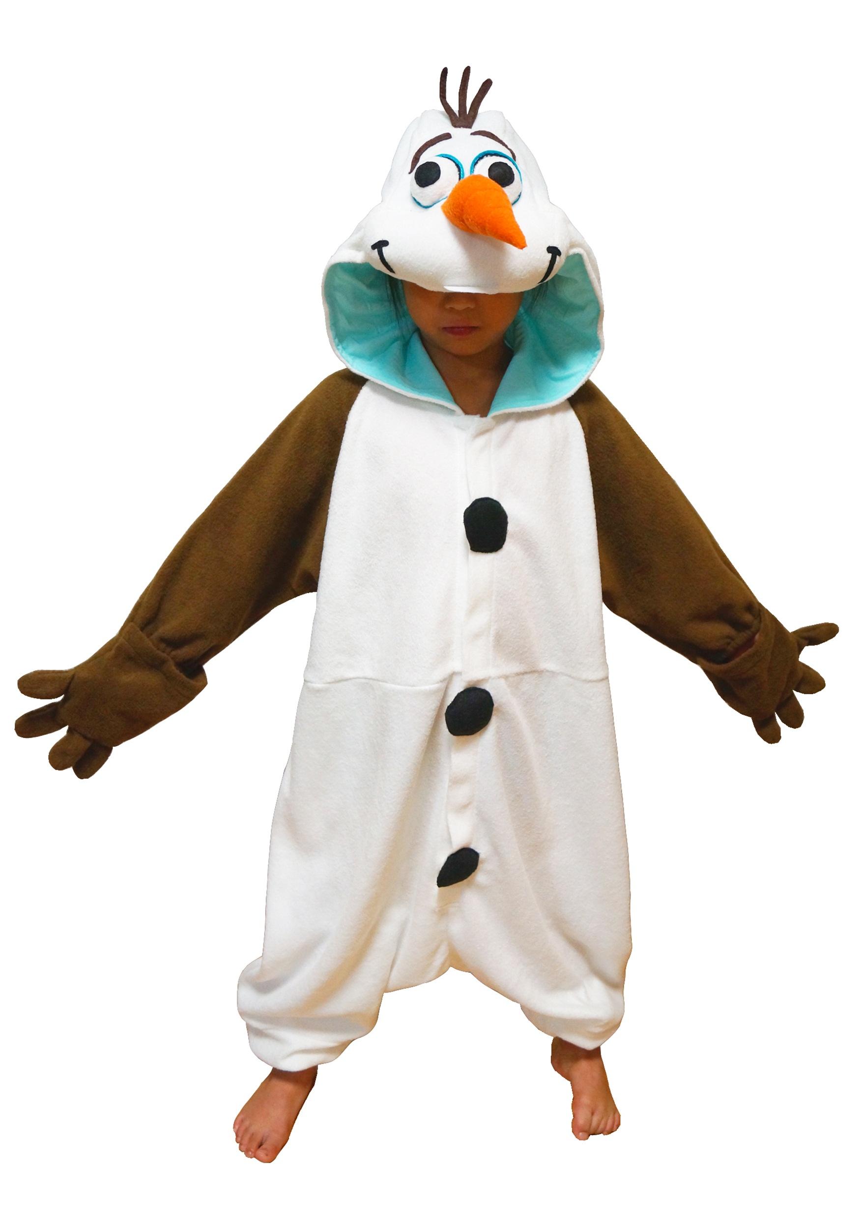 Kids Olaf Pajama Costume SZKTI164F