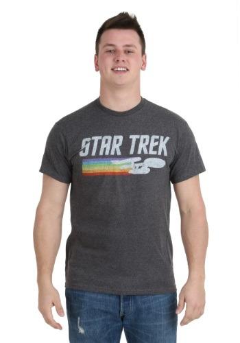 Star Trek Enterprise Rainbow Trail T-Shirt