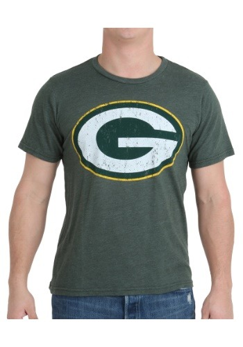 Men's Green Bay Packers Triblend Crew T-Shirt