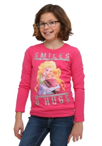 Frozen Smiles & Hugs Girls Pullover