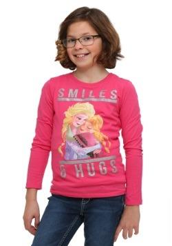 Frozen Smiles & Hugs Girls Pullover