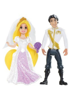Fairytale Wedding Rapunzel and Eugene Magiclip Figure