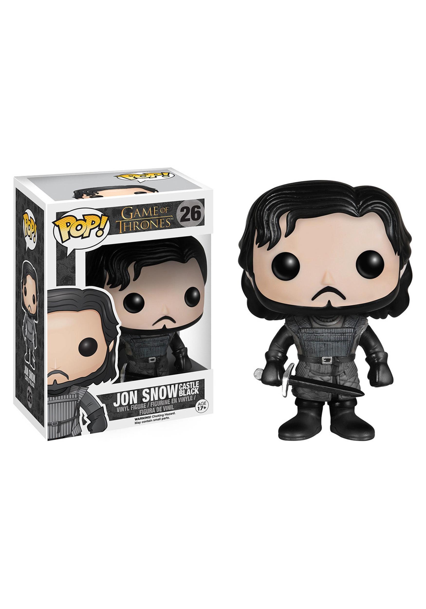 POP Game of Thrones Jon Snow Castle Black Vinyl Figure FN4073