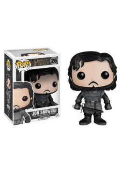 POP Game of Thrones Jon Snow Castle Black Vinyl Figure