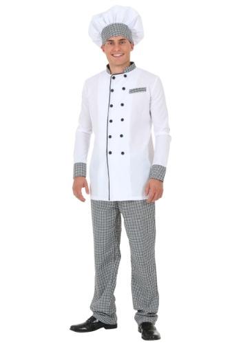 Men's White Chef Jacket Costume