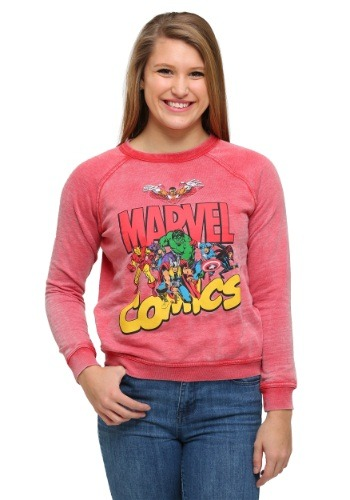 Marvel Juniors Fleece Sweatshirt