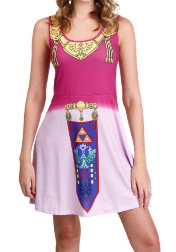 Legend Of Zelda I Am Zelda Tank Dress