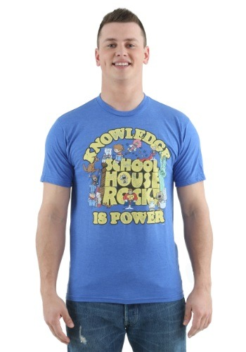 Schoolhouse Rock Knowledge is Power T-Shirt