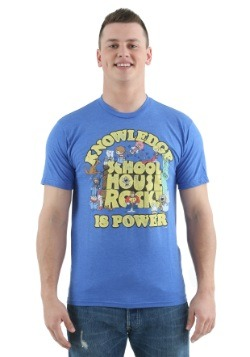 Schoolhouse Rock Knowledge is Power T-Shirt-Update