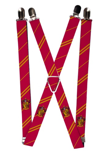 Harry Potter Gryffindor Suspenders