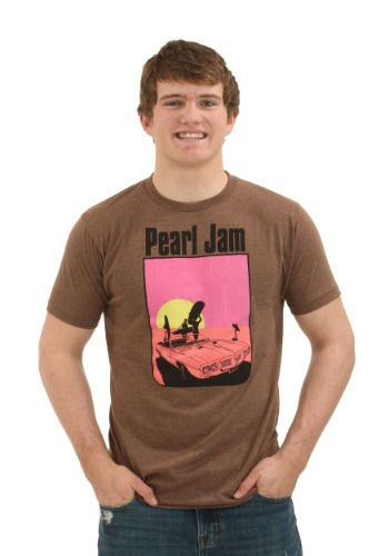 Pearl Jam San Diego Brown Heather T-Shirt