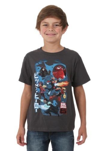 Big Hero 6 Big 6 Kids Juvy T-Shirt