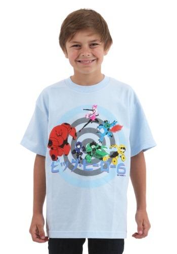 Big Hero 6 Primo Kids Youth T-Shirt