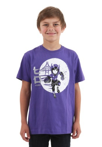 Kids Big Hero 6 Hiro Burst T-Shirt MAHI038YS3