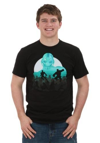 Avengers 2 Ultron in the City Men's T-shirt