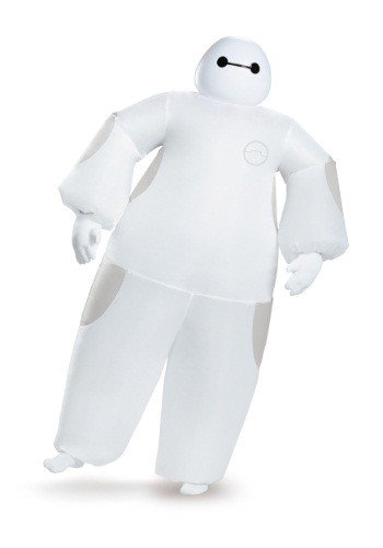 White Baymax Inflatable Adult Costume