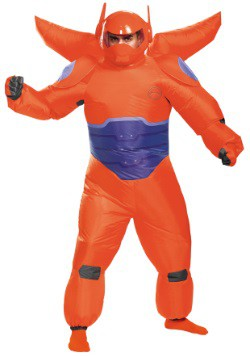 Red Baymax Inflatable Adult Costume