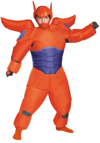 Red Baymax Inflatable Boys Costume DI91827