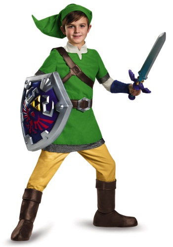 Deluxe Link Child Costume