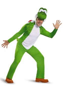 Deluxe Yoshi Costume for Adults  sc 1 st  Fun.com & Deluxe Bowser Costume for Adults
