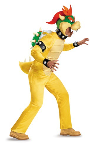 Deluxe Bowser Costume for Adults