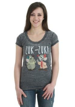 Cinderella Jaq & Gus Zuk-Zuk Juniors T-Shirt