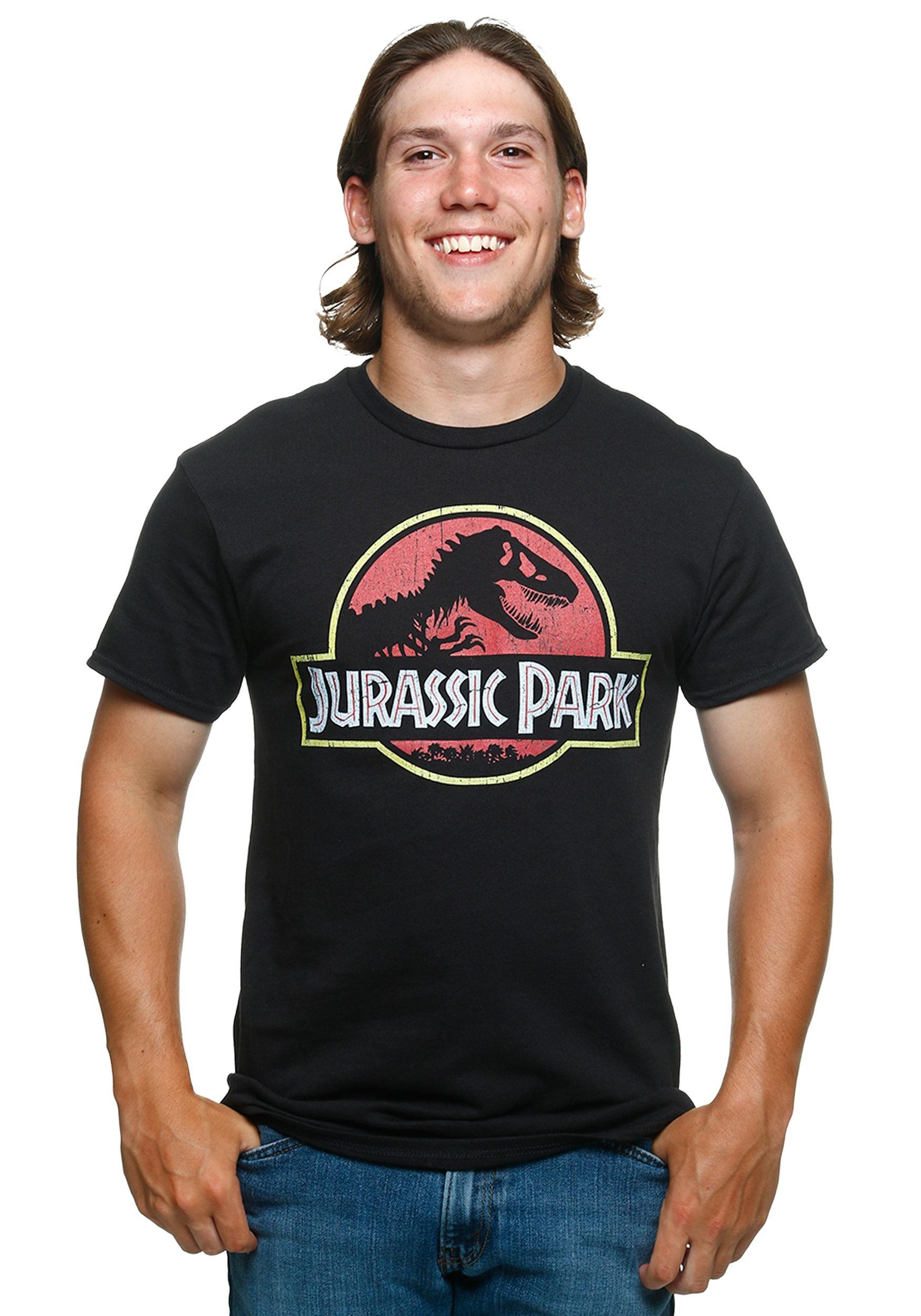 Jurassic Park Logo Men S T Shirt