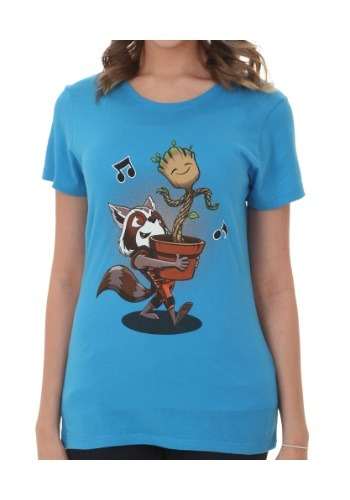 Guardians Of The Galaxy Groot & Rocket Best Of Friends Shirt
