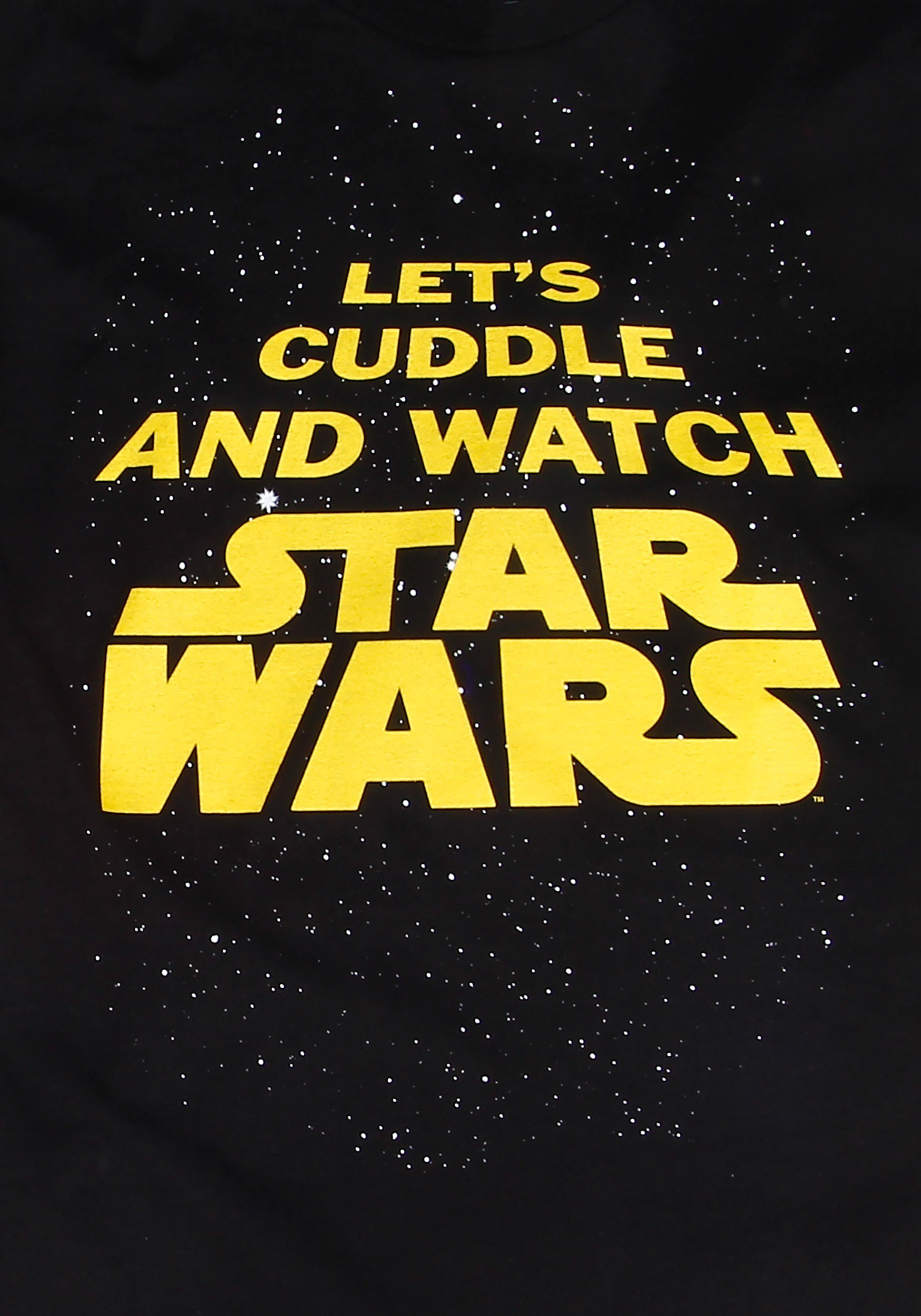 Let S Bring This 70s Revival Mini Skirt Trend Into Fall: Star Wars Let's Cuddle T-Shirt