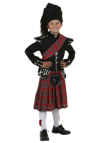 Scottish Kids Costume