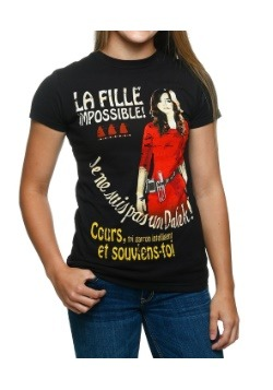 Womens Doctor Who The Impossible Girl T-Shirt