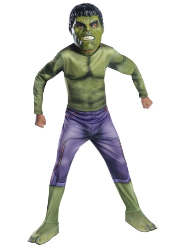Child The Hulk Avengers 2 Costume RU610428
