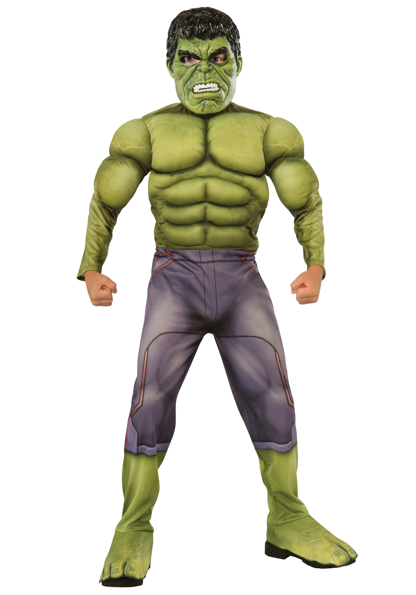 Child Deluxe Hulk Avengers 2 Costume RU610429