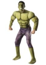 Deluxe Hulk Avengers 2 Mens Costume