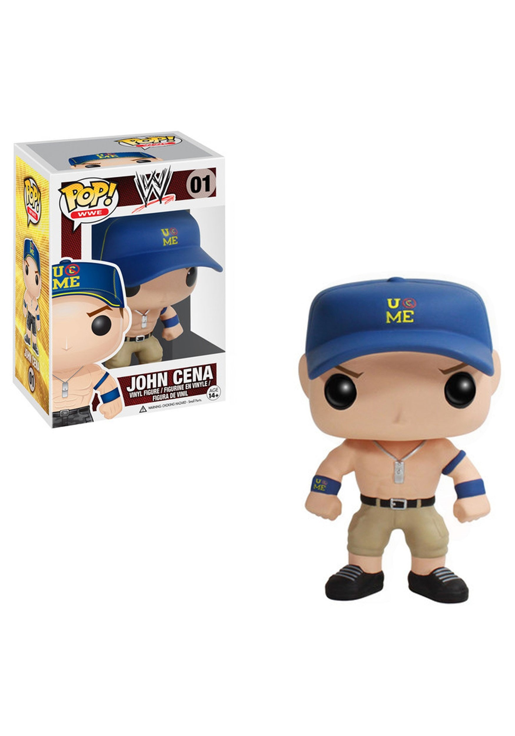 POP WWE John Cena Vinyl Figure FN3414