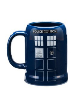 Dr. Who Tardis 20oz Stein