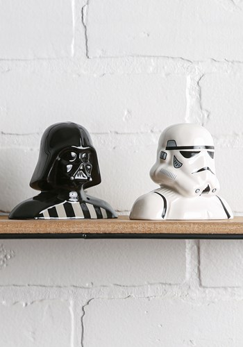 Star Wars Darth Vader & Storm Trooper Salt & Pepper Shakers