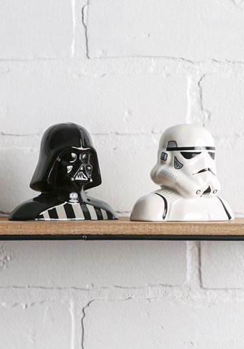 Star Wars Darth Vader & Storm Trooper Salt & Pepper Shakers VA54017