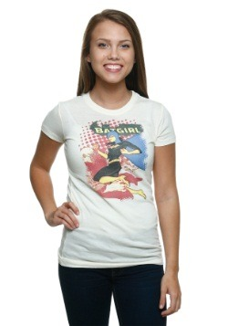 Batgirl Crunch Juniors T-Shirt