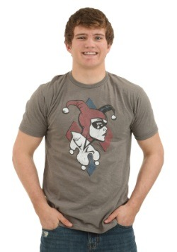 Harley Quinn Profile Men's T-Shirt