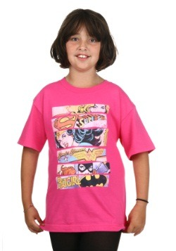 Girls Three Of A Kind Super Girls T-Shirt