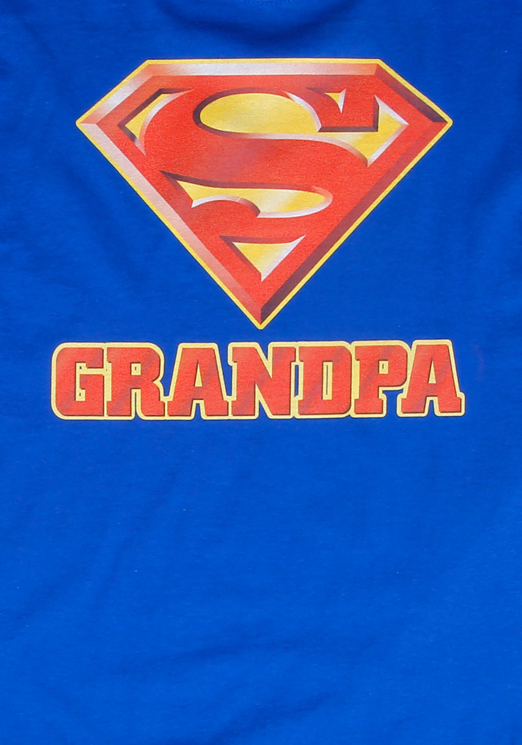 Fun Lamps Superman Super Grandpa T Shirt